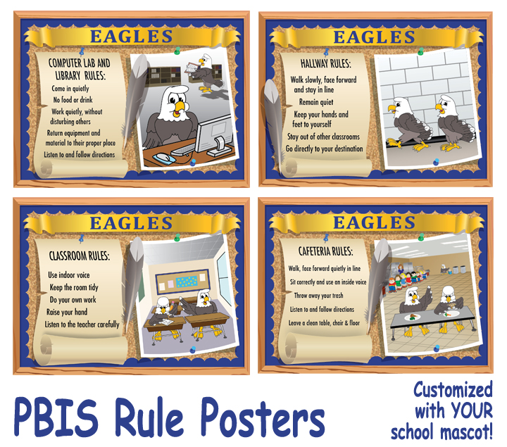 Eagle Posters PBIS School