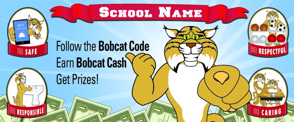 Bobcat Banner PBIS Theme