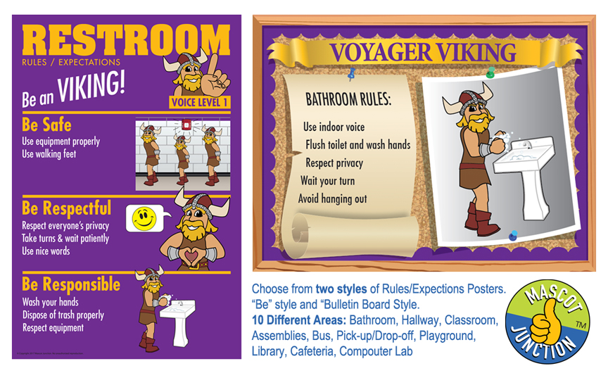 Viking Rules Posters