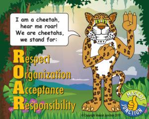 Cheetah ROAR Pledge Poster