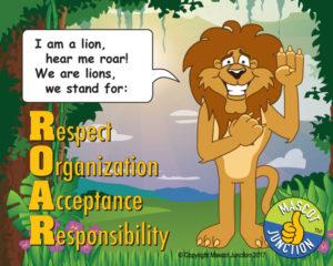 Lion ROAR Pledge Poster