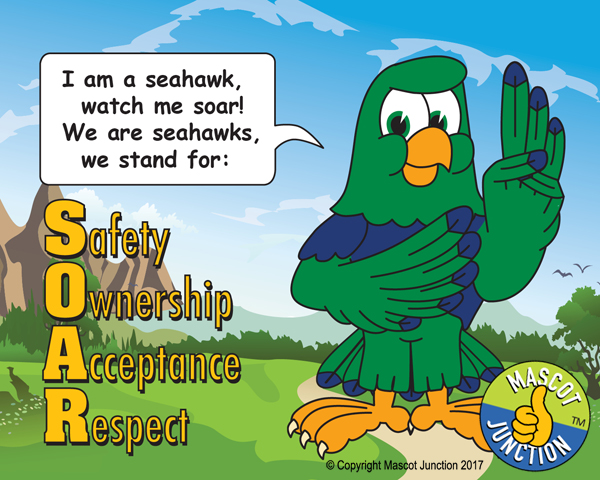 Seahawk Pledge Poster PBIS