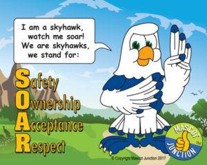 Sea Hawk Pledge Poster PBIS