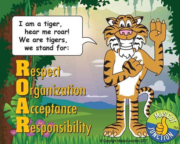 tiger pledge