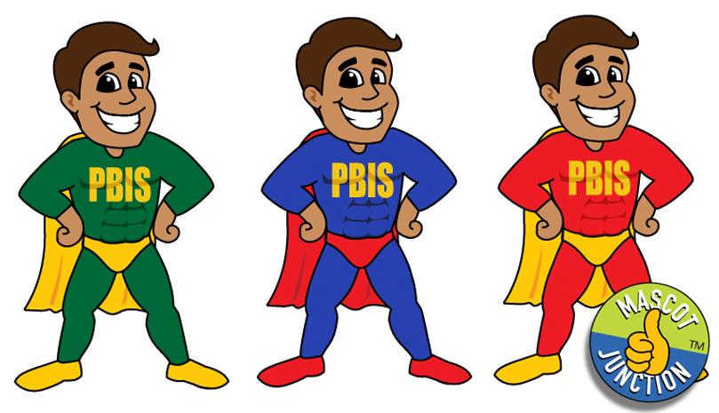 PBIS Super Hero Clip Art
