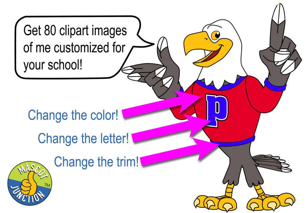 New Eagle Mascot