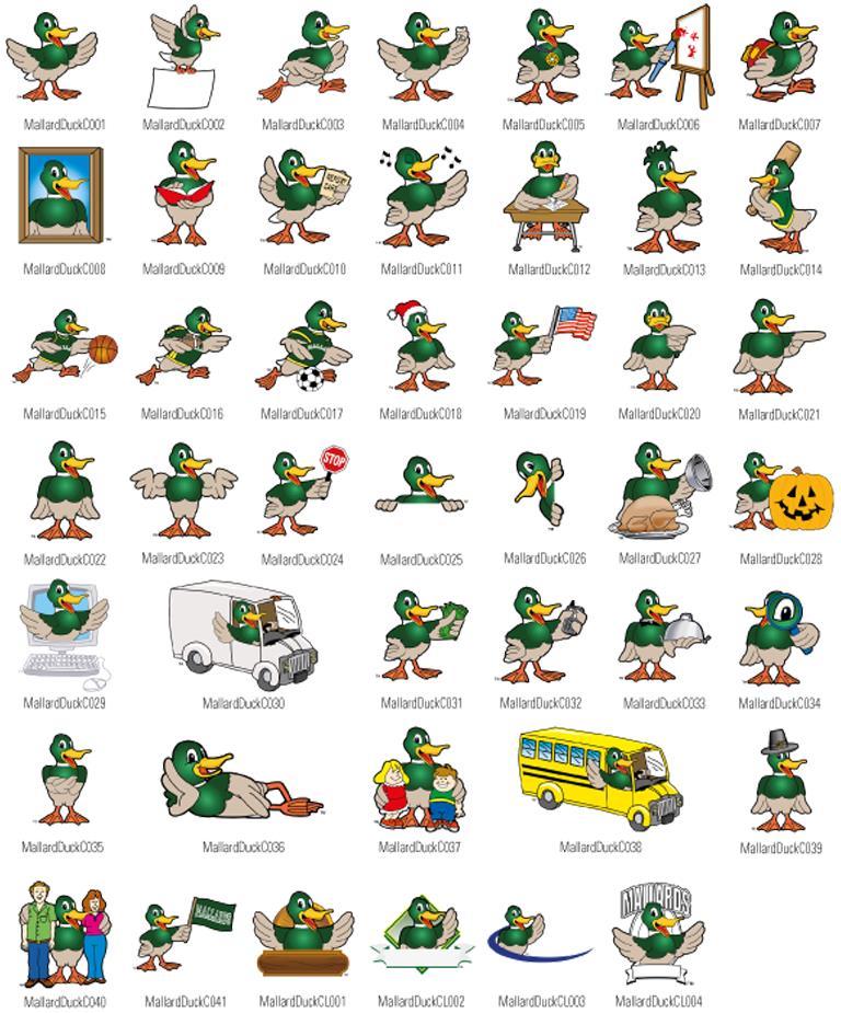 Duck-Mascot-Clipart