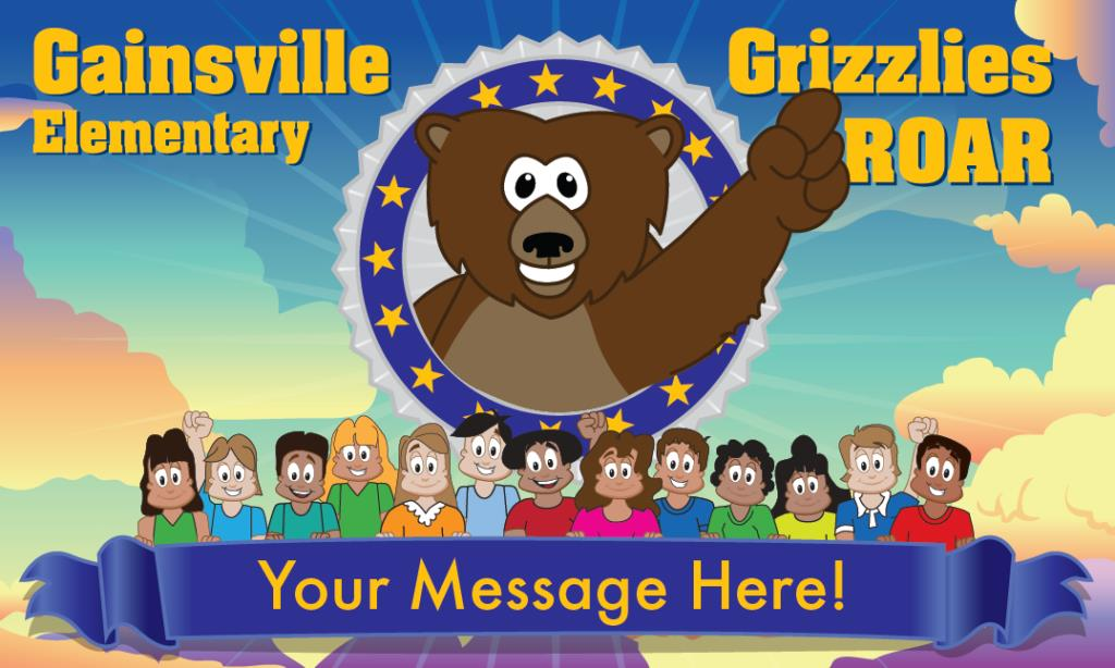Grizzly ROAR Banner