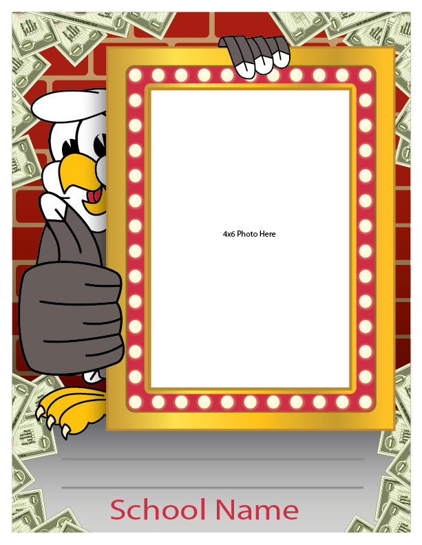 Student award photo recognition frame