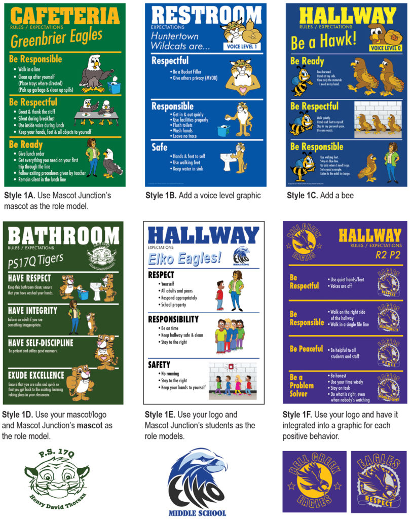 Rule Poster Design Options 1