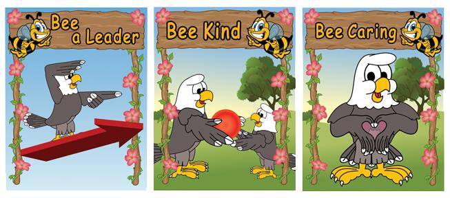 Be Kind Caring Posters
