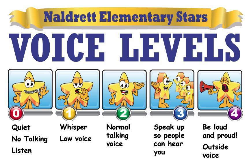 Voice Level School Clipart