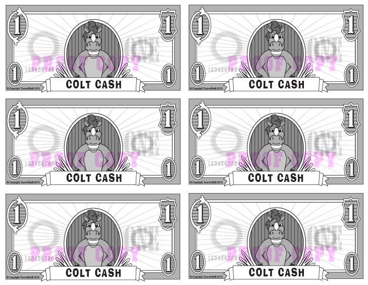 Colt Cash Reward Template