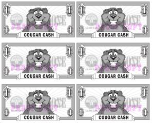 Cougar Cash Reward