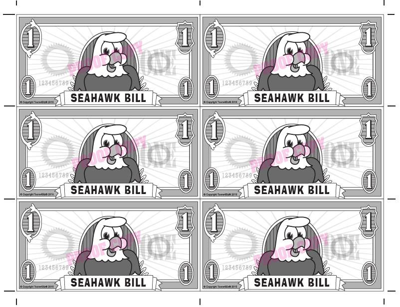Seahawk Bill Reward
