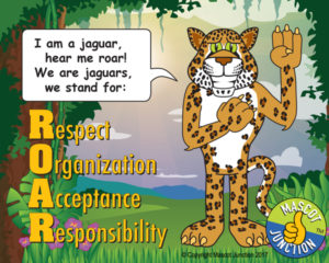Jaguar ROAR Pledge Poster