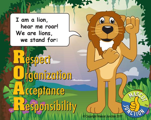 Lions ROAR Poster
