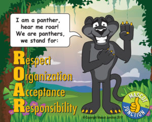 Panther ROAR Pledge Poster