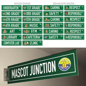 Hallway Street Signs
