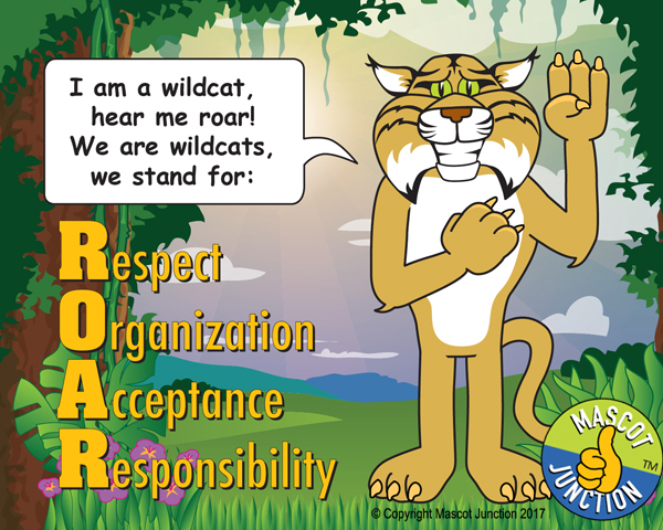 Wildcat ROAR Pledge Poster