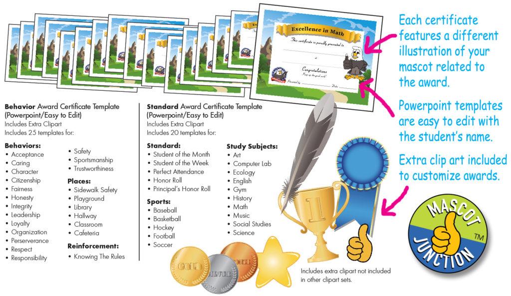 Award Certificates PBIS