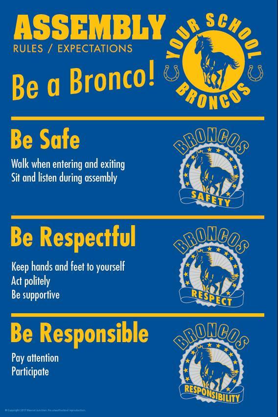 Mavericks Rules Poster Assembly