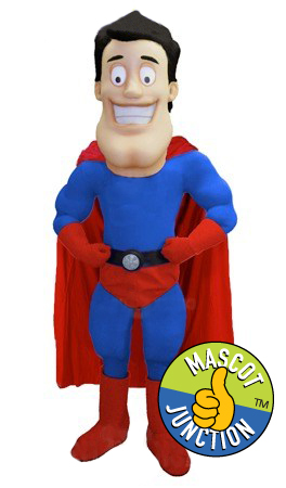 Hero Superhero Mascot Costume