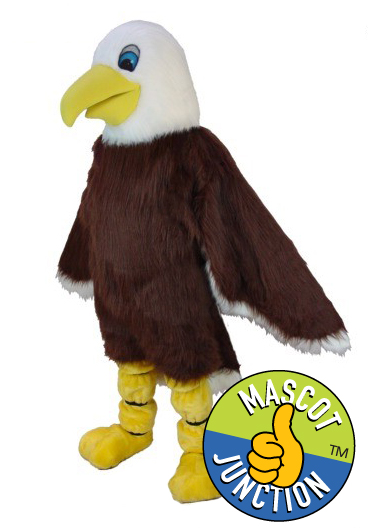 Friendly Eagle Mascot Costume