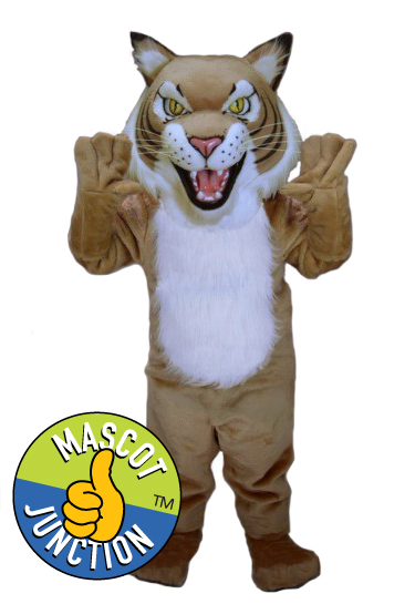 Fierce Bobcat Wildcat Mascot Costume