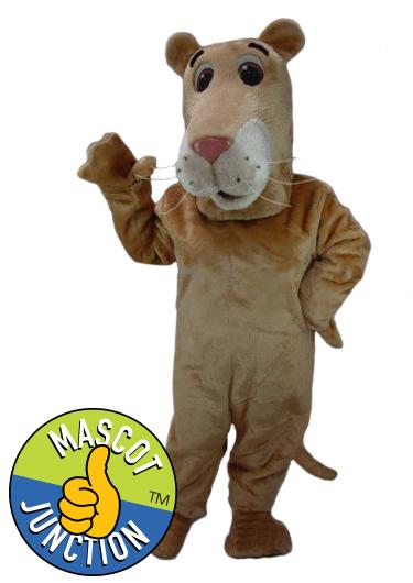 Lion Cub Lioness Mascot Costume