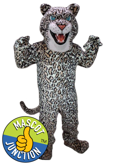 Cheetah Jaguar Leopard Mascot Costume