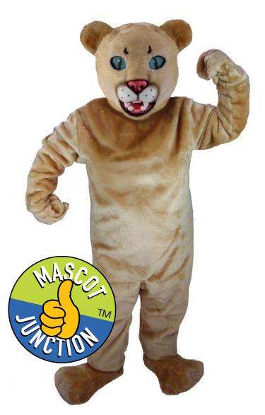 Cougar Puma Cub Mascot Costume