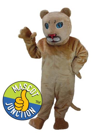 Cougar Lion Cub Mascot Costume
