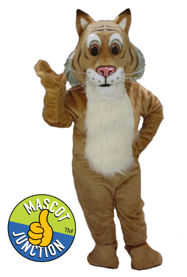 Friendly Bobcat Wildcat Mascot Costume