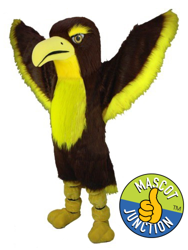 Realistic Hawk Falcon Mascot Costume