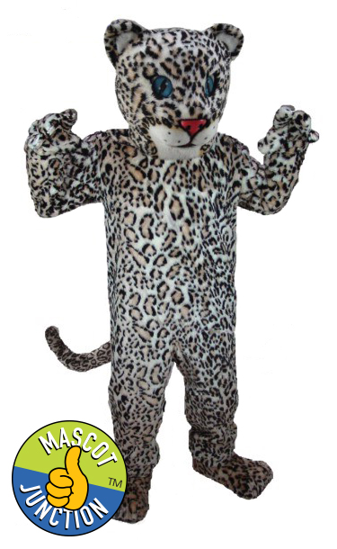 Jaguar Cheetah Leopard Cub Mascot Costume