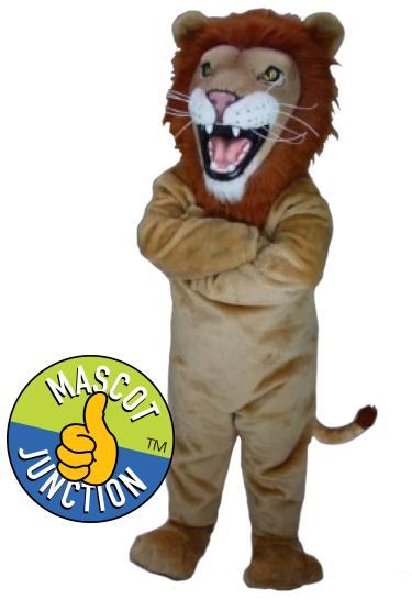 Friendly Lion Mascot Costume
