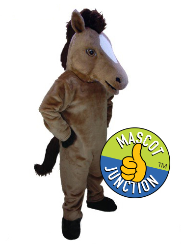 Mustang Colt Stallion Horse Mascot Costume
