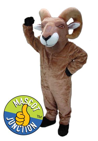 Ram Bighorn Mascot Costume