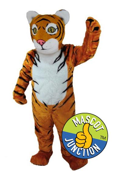 Tiger Cub Mascot Costume