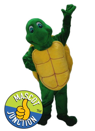 Friendly Turtle Mascot Costume