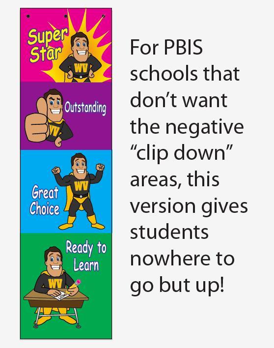 PBIS Clip Charts Behavior