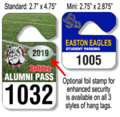 Hang Tags & Parking Permits