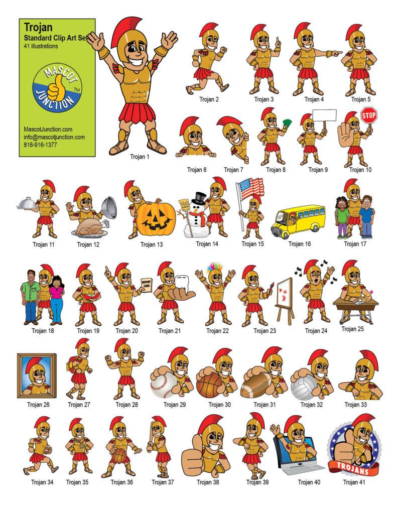 Mascot Clip Art Graphics