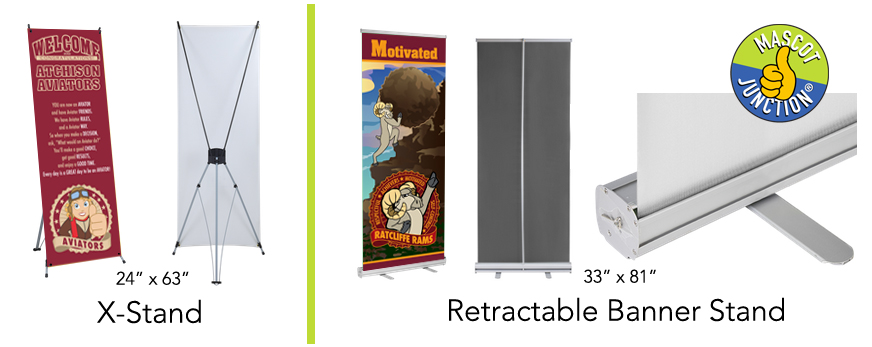 Retractable Banner Stands School