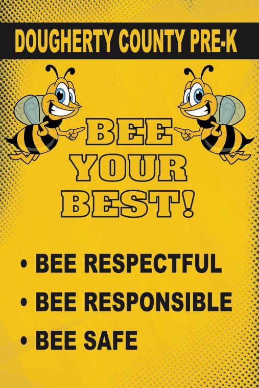 Bee Your Best Poster School PBIS