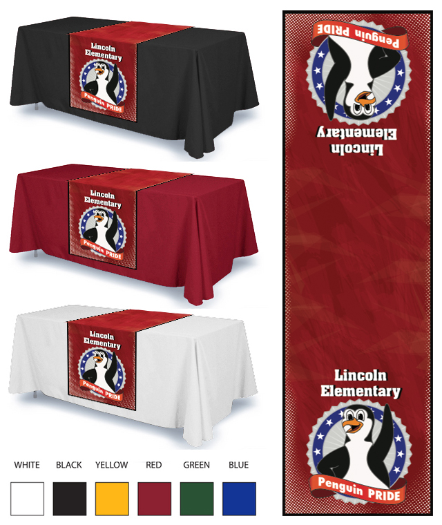 Penguin Table Cloth Options