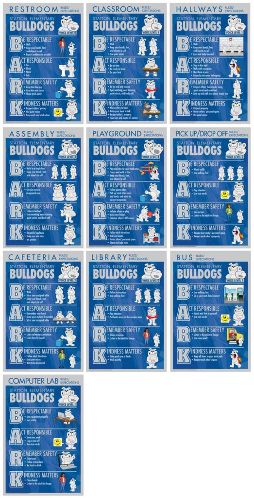 Rules Posters Bulldogs