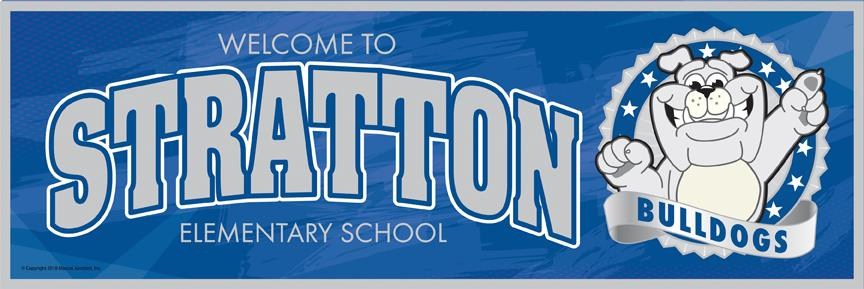 Bulldog Welcome Banner