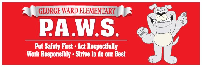 PBIS PAWS banner school
